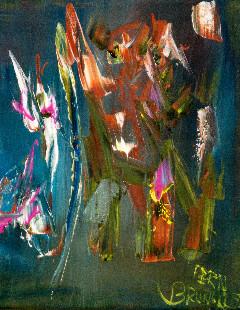 Fernand Brunelle - Fleurs clochettes