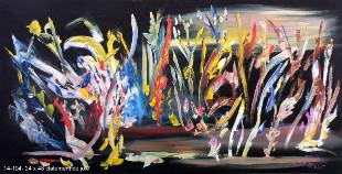 Fernand Brunelle - Éclatement de joie