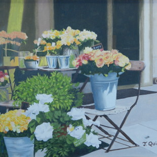 Thérèse Quintal - Paris en fleurs