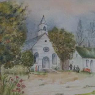 Françoise Charbonneau - L'église du village