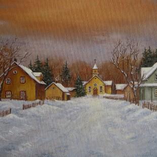 Lucille Béland - Village rustique