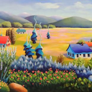 Francine Laplante - Cétait le temps des fleurs