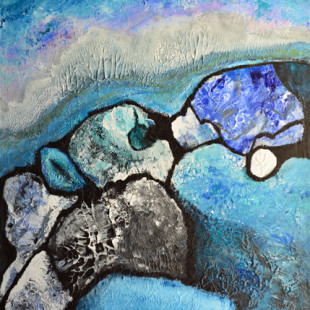 Isabelle Ferron Marchand - Au bord de la mer