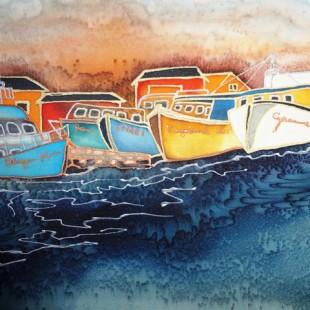 Linda Cyrenne - Bateaux aux Îles-de-la-Madelaine