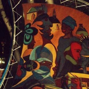 Linda Cyrenne - Fresque de nuit