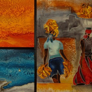 Linda Cyrenne - Les porteuses d'Haïti
