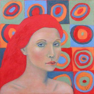 Colette Vadnais - Quand les ronds de Kandinsky m'inspirent
